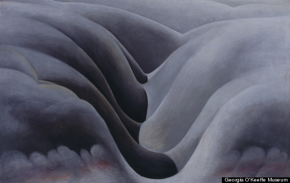 The Black Place lll Georgia O'Keeffe