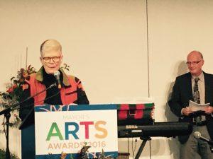 Betsy wins Mayor's Arts Award for Literature