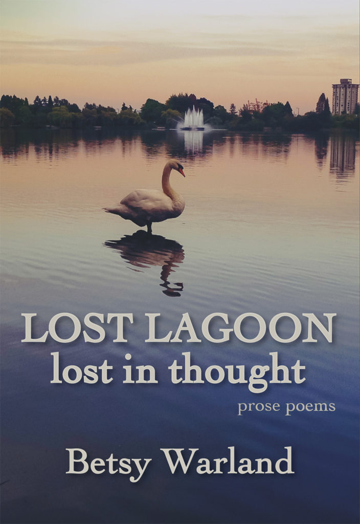Lost Lagoon /lost in thought book of prose poems by Betsy Warland