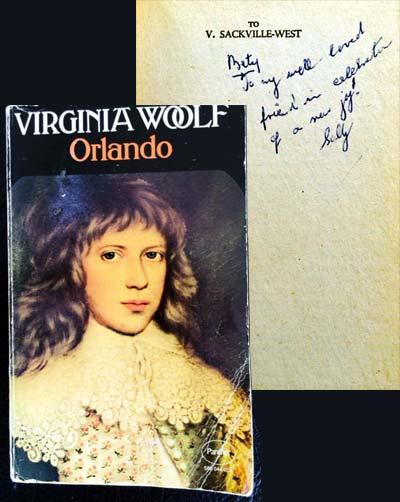 Virginia Woolf dedication