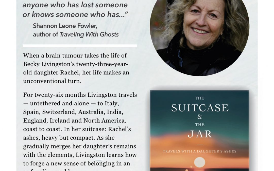 Becky Livingston Publishes Memoir: The Suitcase and the Jar