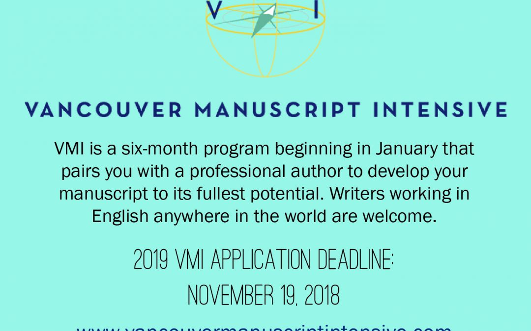 Vancouver Manuscript Intensive Accepting Applications