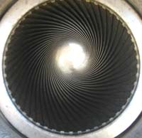 rifling on barrel of M777 howitzer