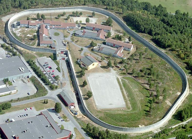 Telemark Prison, Skien, Norway